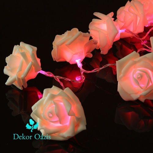 20 Ledes rózsa dekor