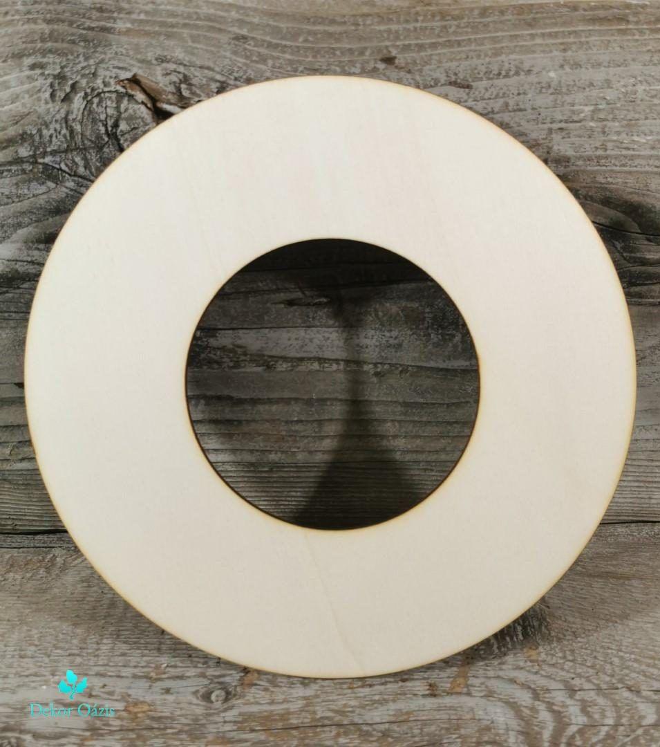 Koszorúalap – 25 cm (12 cm kivágással)